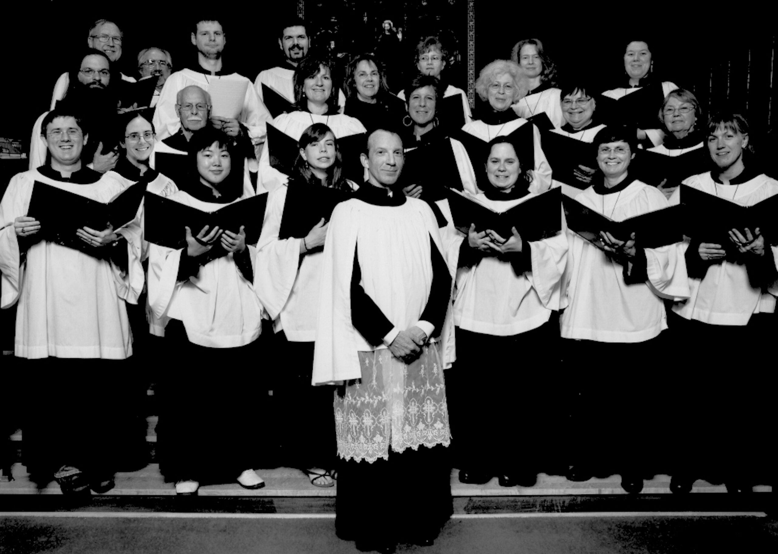 Members of the Parish Choir of St. Matthew's Episcopal Church