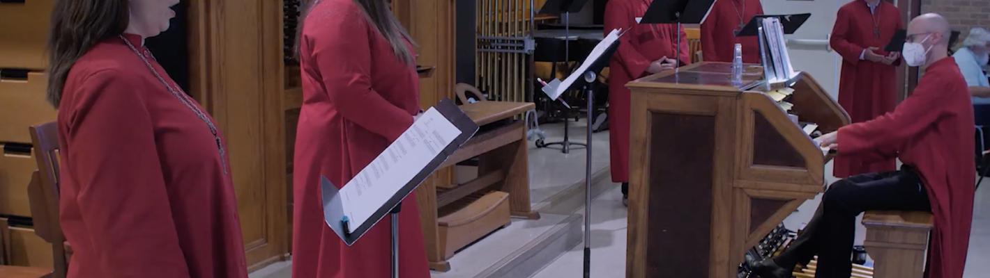 Members of the Choir of St. Martin's Ev. Lutheran Church